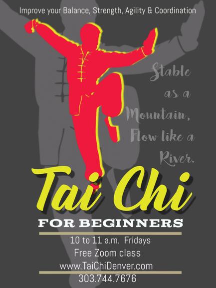 free Tai Chi on Zoom